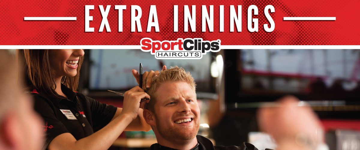 The Sport Clips Haircuts of Peachtree City Extra Innings Offerings