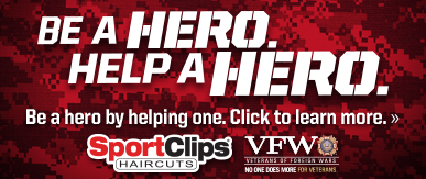 Sport Clips Haircuts of Peachtree City​ Help a Hero Campaign