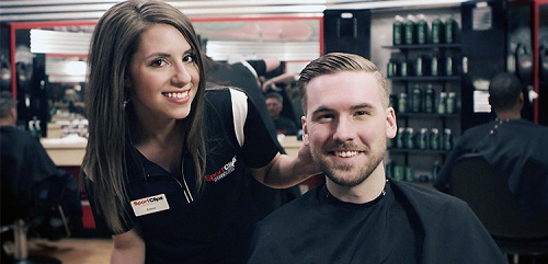 Sport Clips Haircuts of Peachtree City​ stylist hair cut